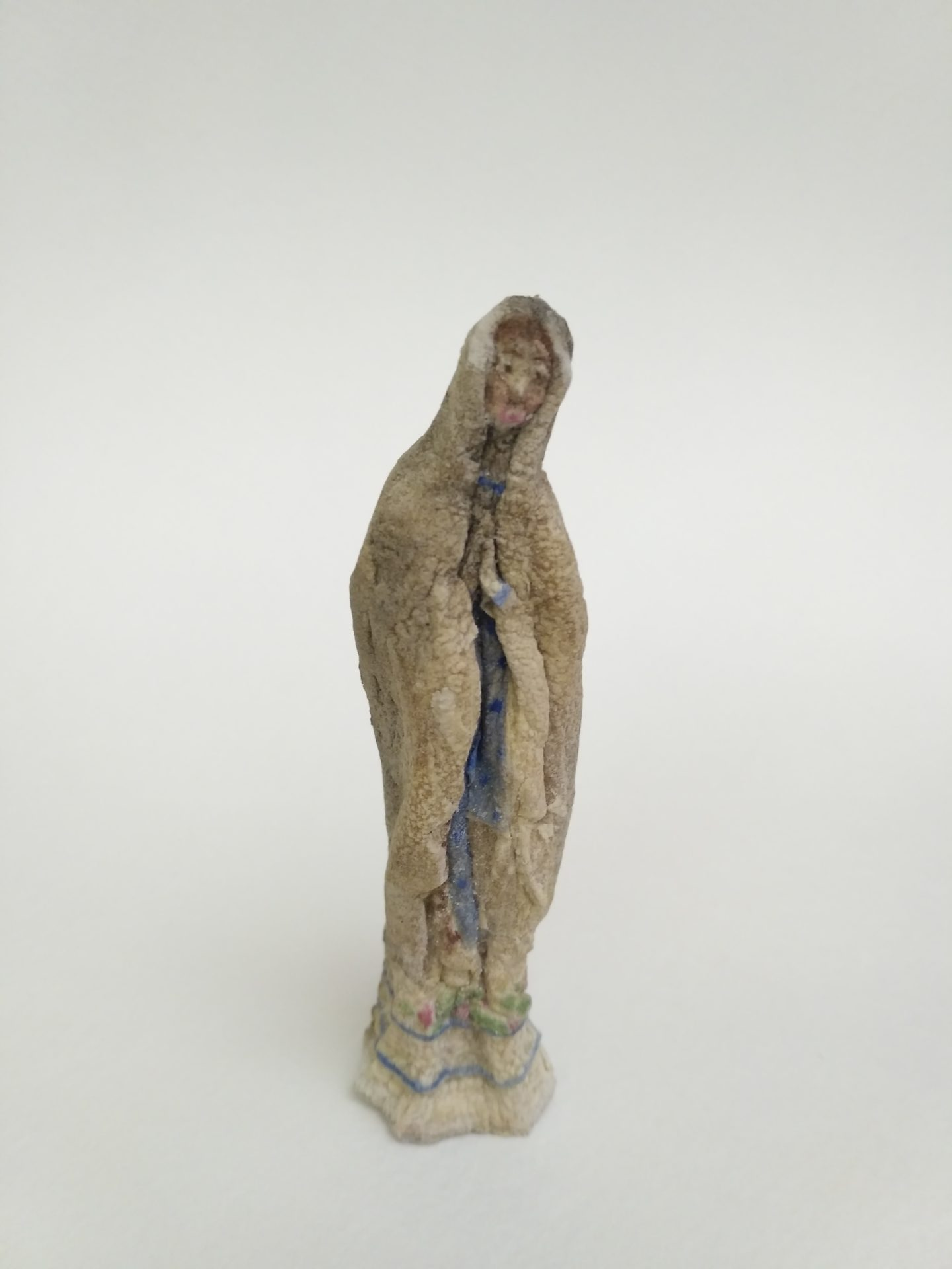 potato scupltures - Virgin Mary (6)