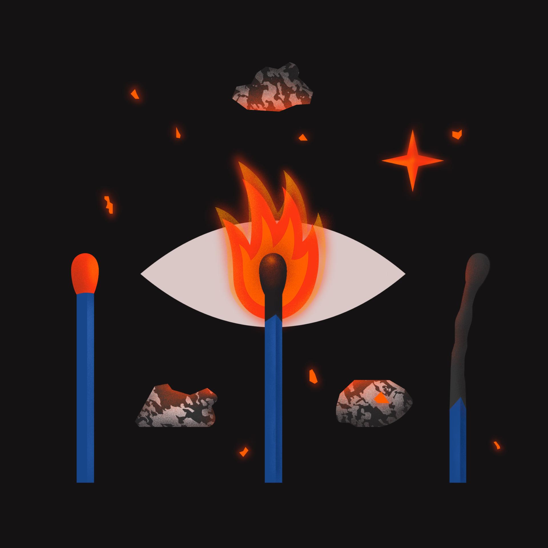 Burnout - pajac_